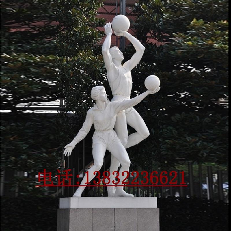 体育健美操人物不锈钢镜面制作-不锈钢运动人物雕塑